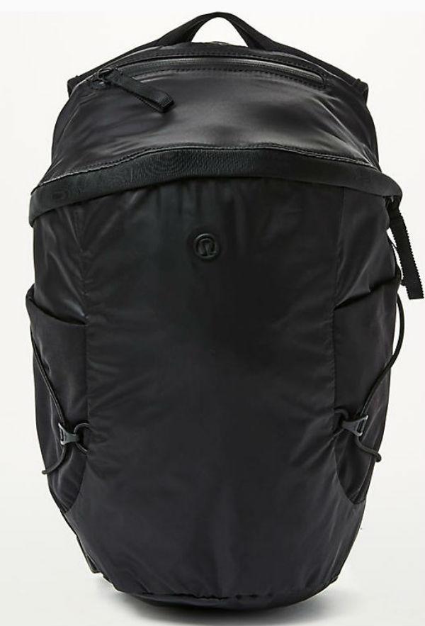 ルルレモン レディース スポーツ バッグRun All Day Backpack II(13L) ブラックLululemon ルルレモン新作 本物 正規品 アメリカ買付 USA直輸入