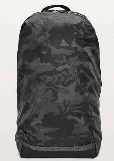 f9094654da4 Lulu lemon men sports bag Surge Run Backpack II(16L) duck gray system  Incognito ...