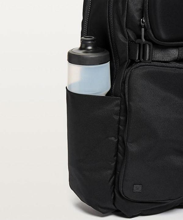 0b55bb5c3c Lulu Lemon Men Sports Bag Cruiser Backpack 22l Black Lululemon New Work  Genuine Article Regular United