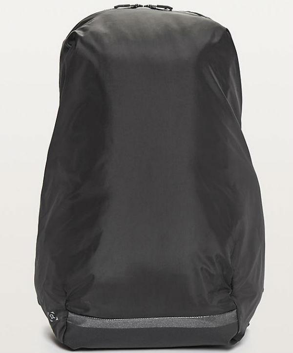 ルルレモン メンズ スポーツ バッグSurge Run Backpack II(16L) ブラックLululemon ルルレモン新作 本物 正規品 アメリカ買付 USA直輸入