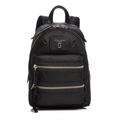 マークジェイコブス バックパック MARC JACOBS Biker Mini Nylon Backpack (Black) バイカー ミニ ナイロン バックパック/リュック (ブラック) 新作 正規品 アメリカ買付 レディース バッグ ユニセックス メンズ リュックサック 通勤 通学