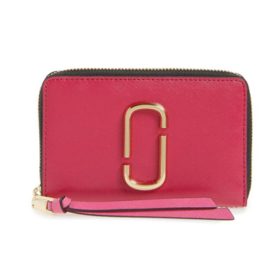 51d0d98f7d3b5 Mark Jacobs folio wallet MARC JACOBS Snapshot Standard Small Leather Wallet  (HIBISCUS MULTI) snapshot ...