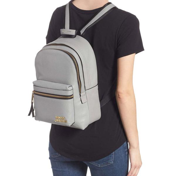 Mark Jacobs backpack M0014268 MARC JACOBS Trek Pack Leather Medium Backpack  (Griffin) leather medium backpack (Griffin) Medium Leather Backpack new  work ... 1b562cffb46fe