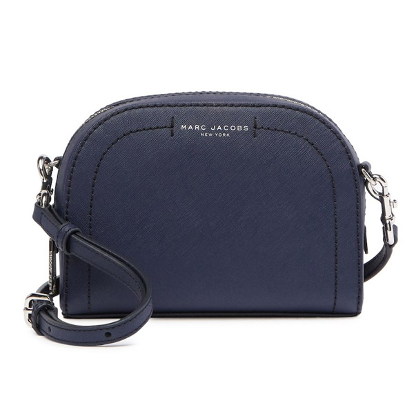 At mark Jacobs shoulder bag MARC JACOBS Playback Leather Crossbody Bag  (INDIGO) synthetic leather body bag (indigo) new work regular article  United States ...
