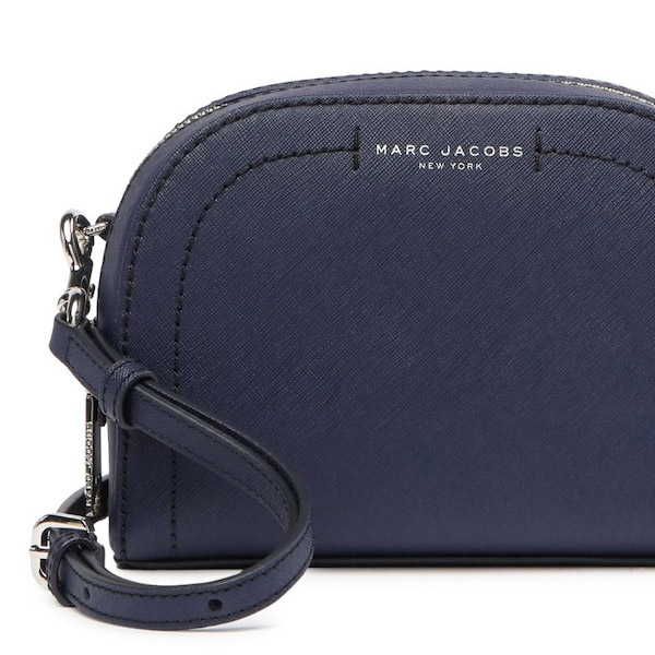 a2bd992640b At mark Jacobs shoulder bag MARC JACOBS Playback Leather Crossbody Bag  (INDIGO) synthetic leather body bag (indigo) new work regular article  United States ...