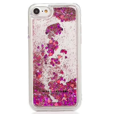 マークジェイコブス iPhoneケース M0012982 MARC JACOBS Floating Glitter iPhone 7 Case (PINK) フローティング グリッター iPhone7ケース (ピンク) Floating Glitter iPhone 7/8 Case ● 新作 正規品 アメリカ買付 バッグ レディース iPhoneカバー Phone8 iPhone7