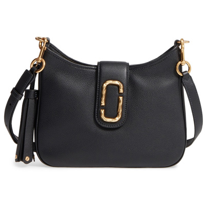 23a13ca53ae5 At mark Jacobs shoulder bag MARC JACOBS Interlock Small Leather Hobo  (Black) Small leather shoulder bag (black) ☆ new work regular article  United States ...