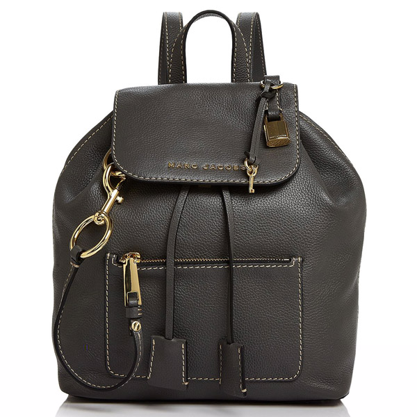 マークジェイコブス バックパック MARC JACOBS M0014018The Bold Grind Backpack (Forged Iron) レザー バックパック/リュック (フォージドアイロン) The Bold Grind Leather Backpack 新作 正規品 アメリカ買付 バッグ レディース リュックサック