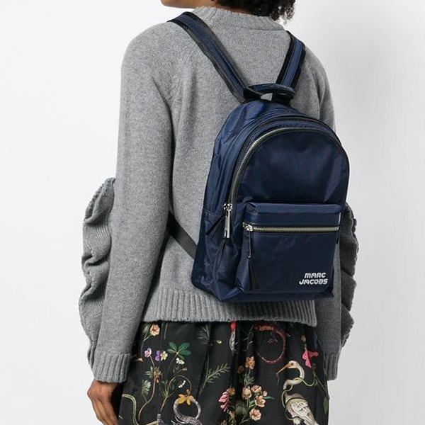 Mark Jacobs backpack M0014031 MARC JACOBS Trek Pack Medium Backpack  (Midnight Blue) trek mini-backpack   rucksack (midnight blue) □ new work  regular ... eae26dc0cf04c