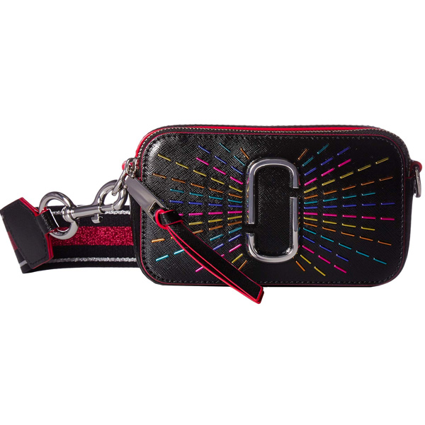 e3da6e2976c6 Mark Jacobs shoulder bag MARC JACOBS Snapshot Confetti Leather Camera Bag  (Black Multi) スナップショットコンフェッティカメラバッグ (black multi-) new work ...