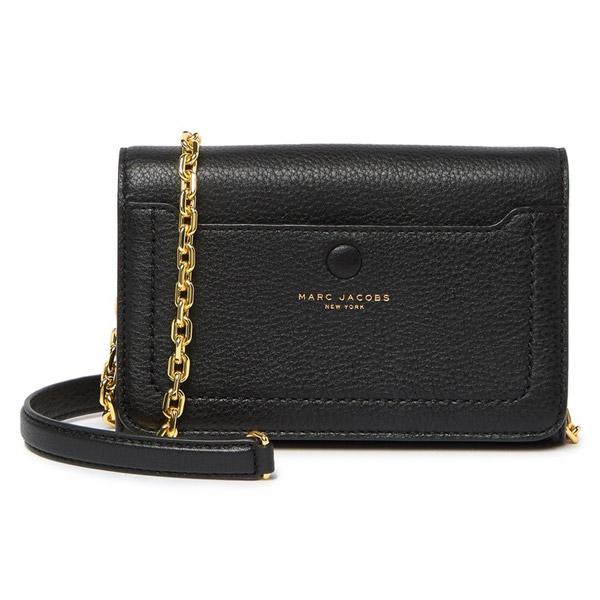 2019 discount sale classic styles cheap for discount Mark Jacobs bag / wallet MARC JACOBS Empire City Leather Wallet Crossbody  Bag (BLACK) leather wallet crossbody bag (black) new work regular article  ...