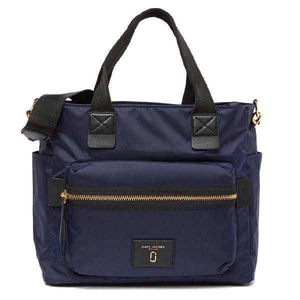 マークジェイコブス マザーズバッグ MARC JACOBS Baby Bag (MIDNIGHT BLUE) ナイロン ベビーバッグ (ミッドナイトブルー) 新作 正規品 アメリカ買付 レディース バッグ ショルダーバッグ ハンドバッグ ベビー ママ