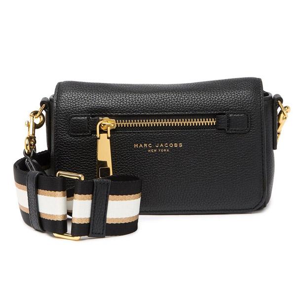 Mark Jacobs shoulder bag MARC JACOBS M0015465 GOTHAM SMALL CROSSBODY BAG (Black) Small synthetic leather body bag (black) Gothom Leather Crossbody Bag