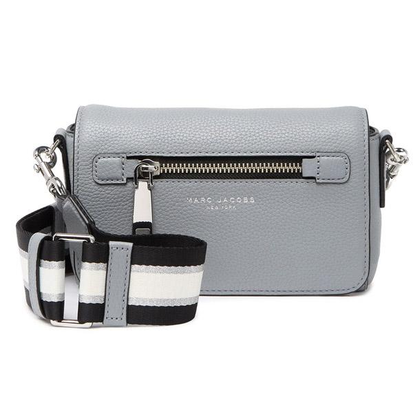 マークジェイコブス ショルダーバッグ MARC JACOBS M0015465GOTHAM SMALL CROSSBODY BAG (Rock Grey) スモール レザー クロスボディバッグ(グレー) Gothom Leather Crossbody Bag 新作 正規品 アメリカ買付 レディース バッグ ポシェット ミニバッグ