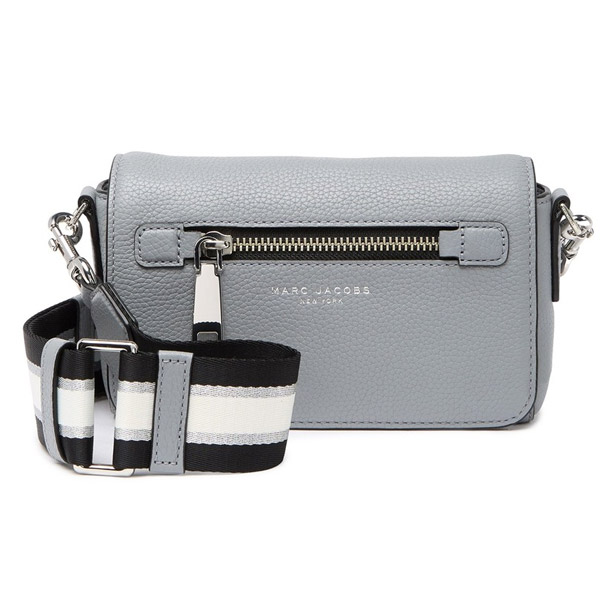 Mark Jacobs shoulder bag MARC JACOBS M0015465 GOTHAM SMALL CROSSBODY BAG (Rock Grey) Small synthetic leather body bag (gray) Gothom Leather Crossbody
