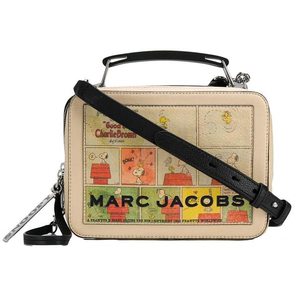 マークジェイコブス ショルダーバッグ M0015097 MARC JACOBS The Box Peanuts The Box 23 (Multi) ピーナッツ コラボ スヌーピー ザ ボックスバッグ (マルチ) PEANUTS X MARC JACOBS THE BOX BAG 新作 正規品 アメリカ買付 レディース バッグ クロスボディ