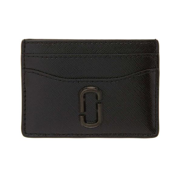 マークジェイコブス カードケース MARC JACOBS M0014527Snapshot DTM Card Case (BLACK) スナップショット カードケース (ブラック) Snapshot Leather Card Case 新作 正規品 レディース 財布 パスケース クレジットカードケース カードホルダー