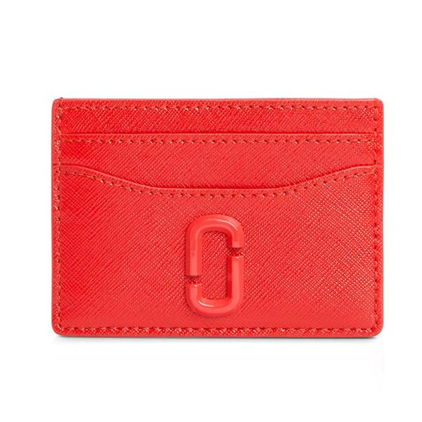 マークジェイコブス カードケース MARC JACOBS M0014527THE SNAPSHOT DTM CARD CASE (GERANIUM) スナップショット DTM カードケース (ゼラニウム) Snapshot Leather Card Case 新作 正規品 アメリカ買付 財布 カードホルダー クレジットカードケース