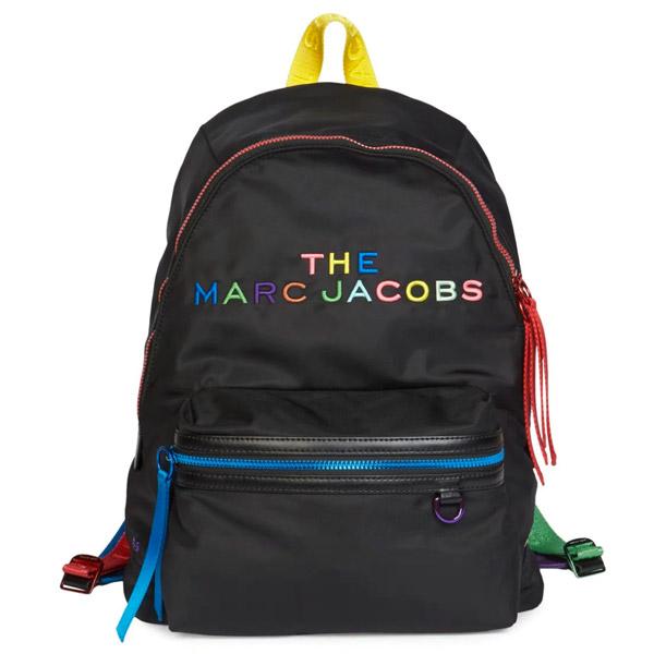 マークジェイコブス バックパック M0015445 MARC JACOBS The Pride Backpack (New Black Multi) ザ プライド バックパック (ブラックマルチ) ■ 新作 正規品 アメリカ買付 レディース バッグ リュック リュックサック ユニセックス メンズ