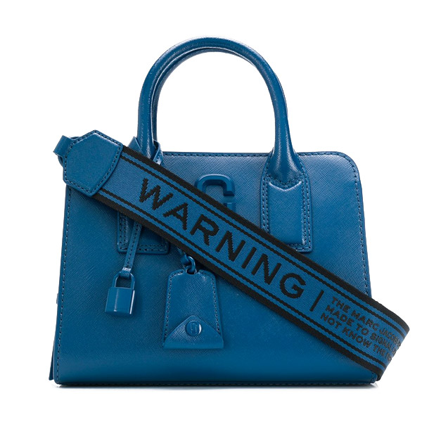 マークジェイコブス 2WAYバッグ MARC JACOBS M0014866THE LITTLE BIG SHOT DTM BAG (Hudson River Blue) リトル ビッグ ショット バッグ (ブルー) 新作 正規品 アメリカ買付 レディース バッグ トートバッグ ショルダーバッグ ハンドバッグ