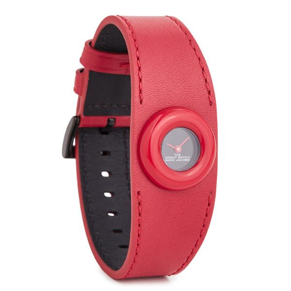 マークジェイコブス 腕時計 M8000741 MARC JACOBS The Donut Watch 22mm (RED) ザ ドーナツ ウォッチ 22mm 時計 (レッド) 新作 正規品 アメリカ買付 レディース ギフト プレゼント アクセサリー 小物