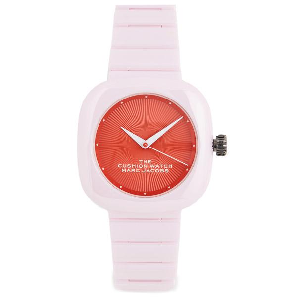 マークジェイコブス 腕時計 MARC JACOBS M8000737 THE CUSHION WATCH (PINK) ザ クッション ウォッチ 時計 (ピンク) 新作 正規品 アメリカ買付 レディース ギフト プレゼント アクセサリー 小物