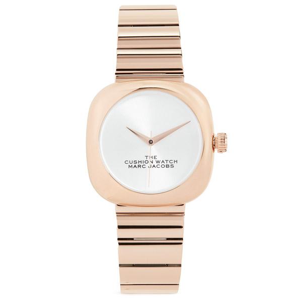 マークジェイコブス 腕時計 M8000732 MARC JACOBS The Cushion Watch 36mm (ROSE GOLD) ザ クッション ウォッチ 36mm (ローズゴールド) 新作 正規品 アメリカ買付 レディース ウォッチ 時計 アクセサリー