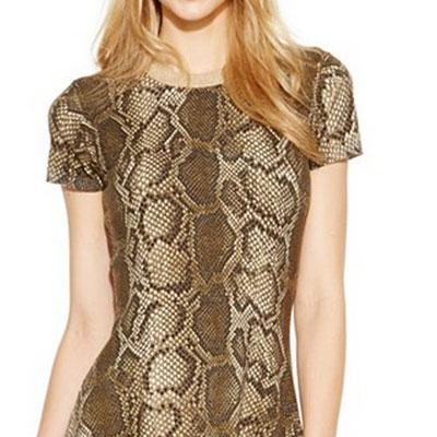 snake animal print fashion clothes witusa rakuten global market michael kors dress snake print