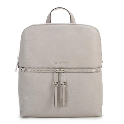 マイケルマイケルコース バックパック Michael Michael Kors 30H6GEZB2LRhea Medium Slim Backpack (Pearl Grey) リア ミディアム スリム バックパック/リュック (パールグレー) 新作 正規品 レディース バッグ リュックサック レザー 通学
