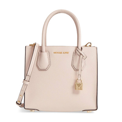 shop for best new lower prices enjoy clearance price Michael Michael course 2WAY handbag 30F6GM9M2L Michael Michael Kors MERCER  medium messenger (soft pink) Mercer Medium Bonded-Leather Crossbody(SOFT ...