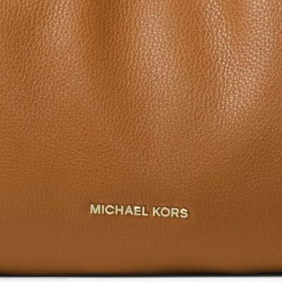 邁克爾邁克爾套餐挎包Michael Michael Kors 30H6GRXE3L Raven Large Leather Shoulder Bag(ACORN)大量皮革挎包(eikon)新作品正規的物品女士包手提包