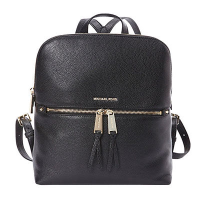782112336834 Michael Michael course backpack Michael Michael Kors Rhea Medium Slim  Backpack(Black) rear medium ...
