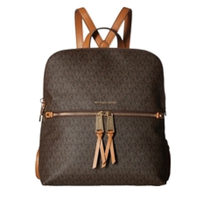 06ce4ae9ce32 Michael Michael course backpack Michael Michael Kors Rhea Medium Slim  Backpack(Brown) rear medium ...