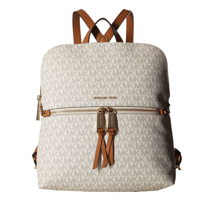 fb2671c726d3 Michael Michael course backpack Michael Michael Kors Rhea Medium Slim  Backpack(Vanilla) rear medium ...