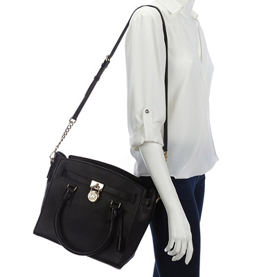 742a16367b5a ... Michael Michael course 2WAY handbag 30S7GHMS7L Michael Michael Kors  HAMILTON large Satchell (black) Hamilton ...
