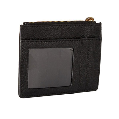16ff739d73ca ... Michael Michael course coin case 32T7GM9P0L Michael Michael Kors Mercer  Small Leather Coin Purse (BLACK ...