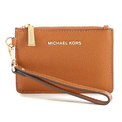 938d9ff9f162 Michael Michael course coin case 32T7GM9P0L Michael Michael Kors Mercer  Small Leather Coin Purse (LUGGAGE ...