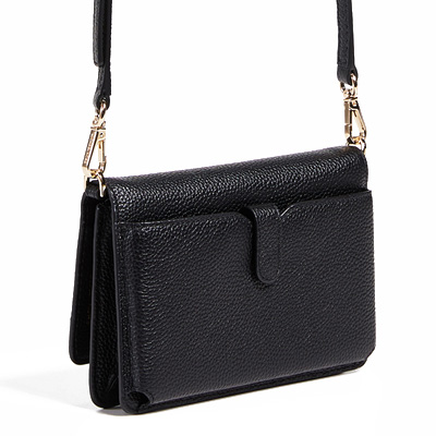 f4e8d64f6609 Michael Kors wallet   bag Michael Michael Kors 32T8GF5C1L Pebbled Leather  Convertible Crossbody (Black) synthetic leather body wallet (black) Phone  Wallet ...