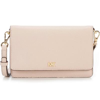 a9168fcb0ad3 Michael Kors wallet / bag Michael Michael Kors 32T8GF5C1L Pebbled Leather  Convertible Crossbody (Soft Pink ...