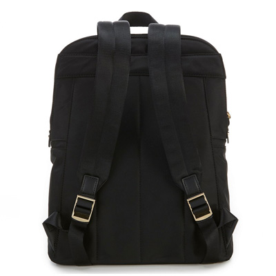0e824801b961 ... Michael Kors backpack Michael Michael Kors 30T8GP5B2C Polly Medium  Nylon Backpack (Black) medium slim ...