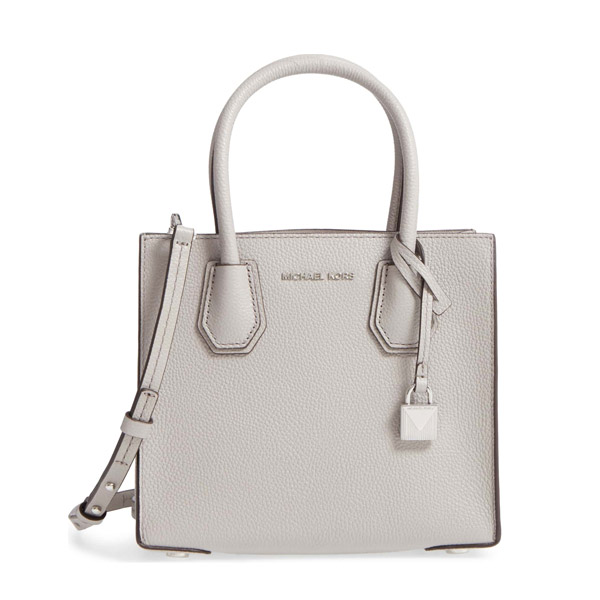58df013a3f1e Michael Michael course 2WAY bag 30F6SM9M2L Michael Michael Kors MERCER  medium messenger (pearl grey) ...