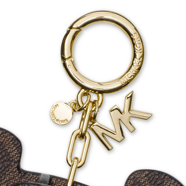cbbe162d5d1e It is an item to be able to enjoy as both a key ring and a bag charm. It is  recommended in a gift and a present. ◇MICHAEL KORS ...