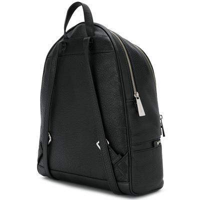 d6cf1f1124e9 ... The Michael Kors backpack Michael Kors 30S5SEZB3L Rhea Large Leather  Backpack (Black) rear large ...