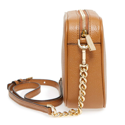 0e170429b267 Michael Kors shoulder bag 32F7GGNM8L Michael Kors Ginny Leather Crossbody ( Acorn) GINNY medium camera bag (brown) new work regular article Lady s bag  ...