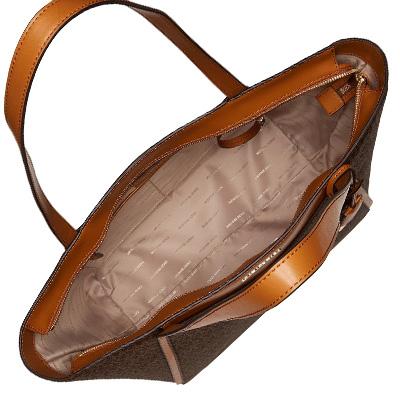 5f11e905c32c The Michael Kors tote bag 30S8GN1T3B Michael Michael Kors Whitney Large  Logo Tote (BROWN) WHITNEY large top zip Thoth - MK logo (brown) new work  regular ...