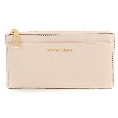 size 40 f1d15 a461b Michael Kors card case Michael Michael Kors Large Slim Card Case (Soft  Pink) large slim leather card case (soft pink) new work regular article  Lady's ...