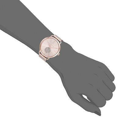 2c4f782f653f Michael Kors watch Michael Kors MK3845 Women s Portia Rose Gold-Tone  Stainless Steel Mesh Bracelet Watch 37mm (Rose Gold) mesh bracelet watch  clock (Rose ...
