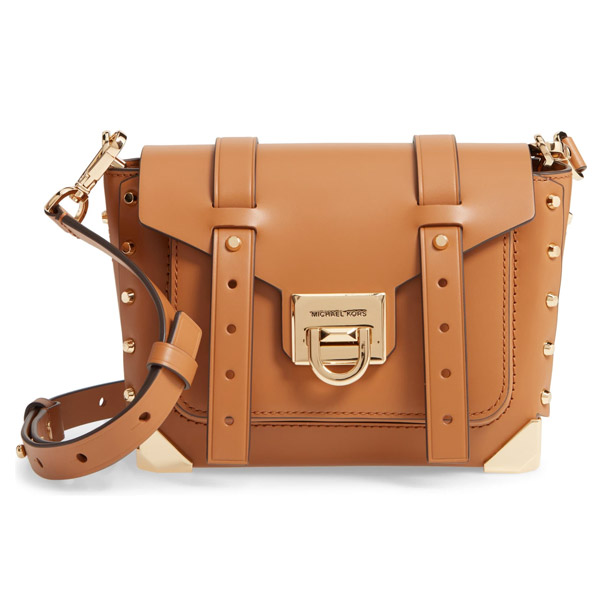 Small Manhattan Leather Crossbody Bag
