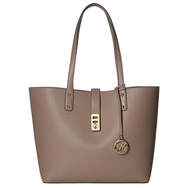 Michael Kors tote bag Michael Michael Kors Karson Carryall Leather Tote (Dark Dune) carry oar leather Thoth (dark dune) new work regular article
