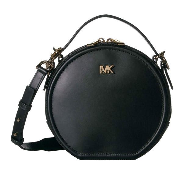 マイケルコース ショルダーバッグ Michael Michael Kors 30T9GNBM2LDelaney Medium Leather Canteen Crossbody Bag (BLACK) レザー キャンティーン クロスボディ (ブラック) 新作 正規品 アメリカ買付 レディース バッグ ミニバッグ ポシェット メッセンジャーバッグ